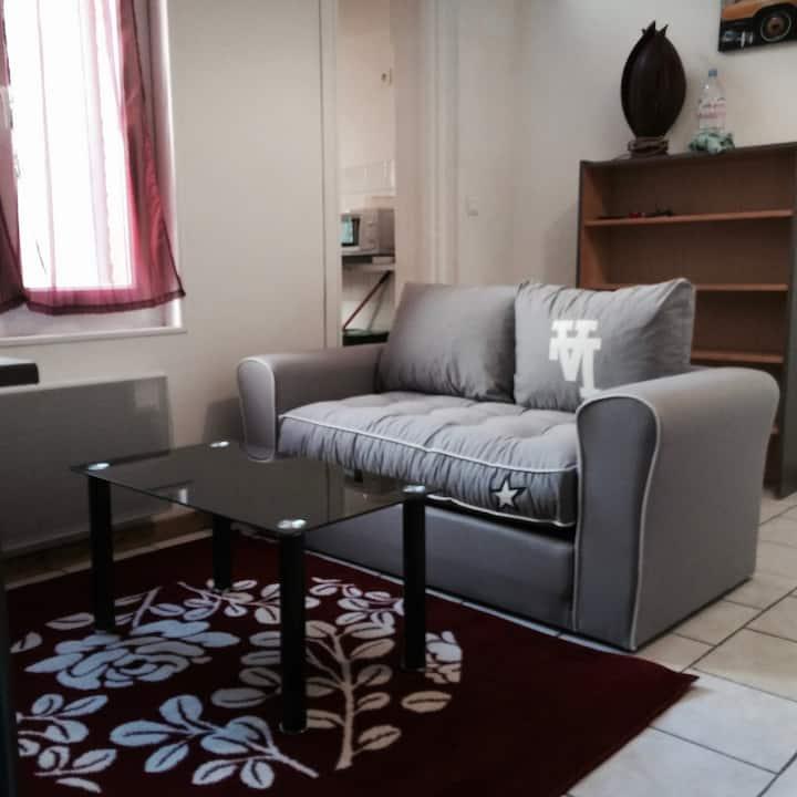 STUDIO  meublé 2  proche centrale GOLFECH