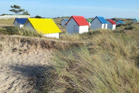Détente à la plage - Gouville-sur-Mer - Rumah