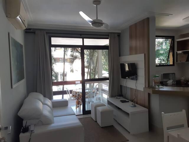 Lindo Flat 237 de 1 dorm em Riviera
