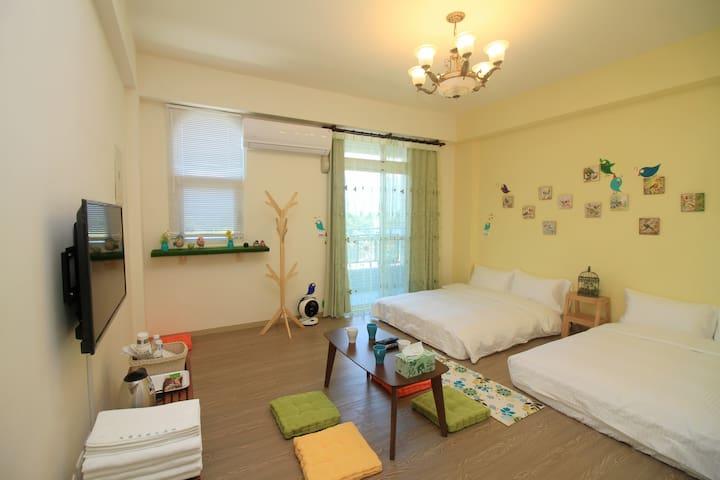 鳥窩窩與大森林民宿(雙人房+)