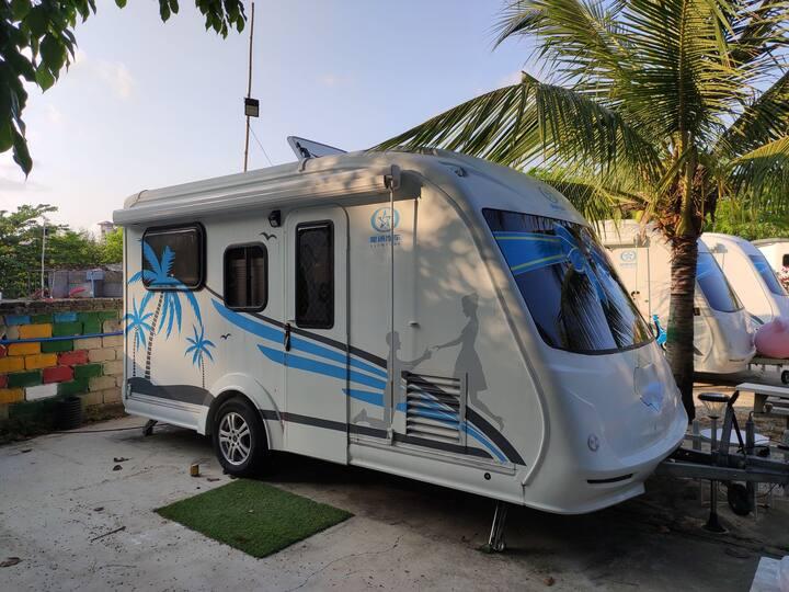 沙滩房车~一个全新的生活度假方式
