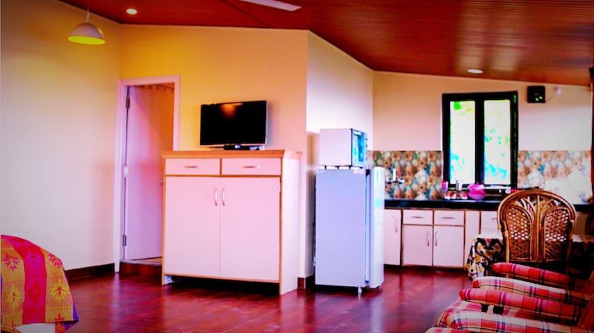 Studio room facing the Dehradun Valley!