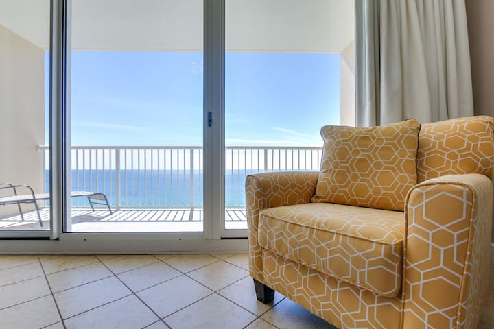 Beach Front Condo at Majestic-  Newly Renovated