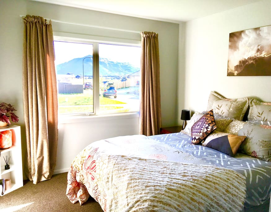 It's all about the room! Beautiful, stylish and comfortable. This is the room you want to stay in!