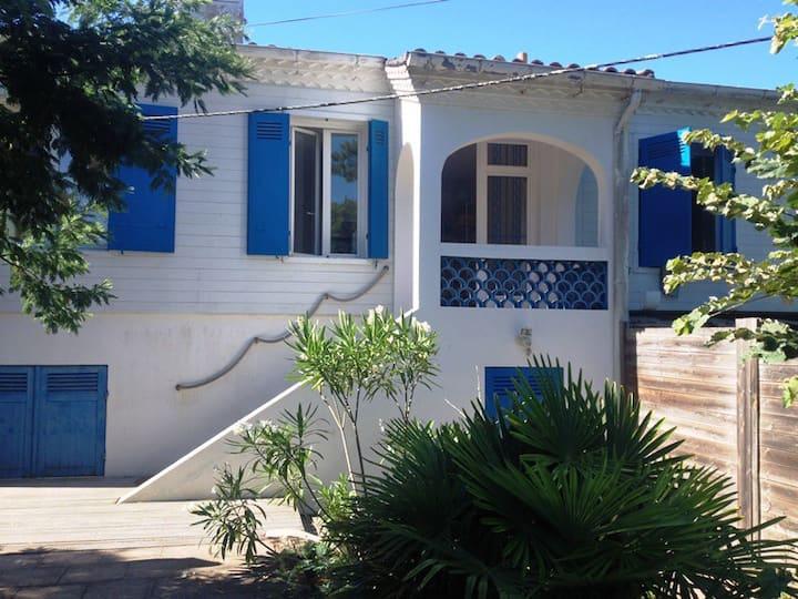 Appartement avec jardin proche plage Pyla et dune