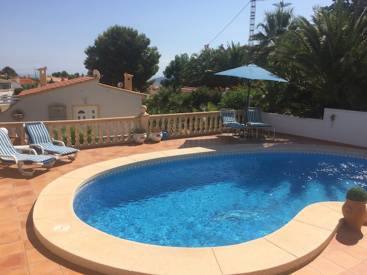 A little gem with private pool near Benidorm