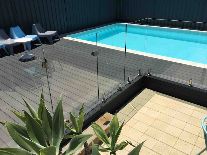 Barrenjoey Beach House with private in-ground pool
