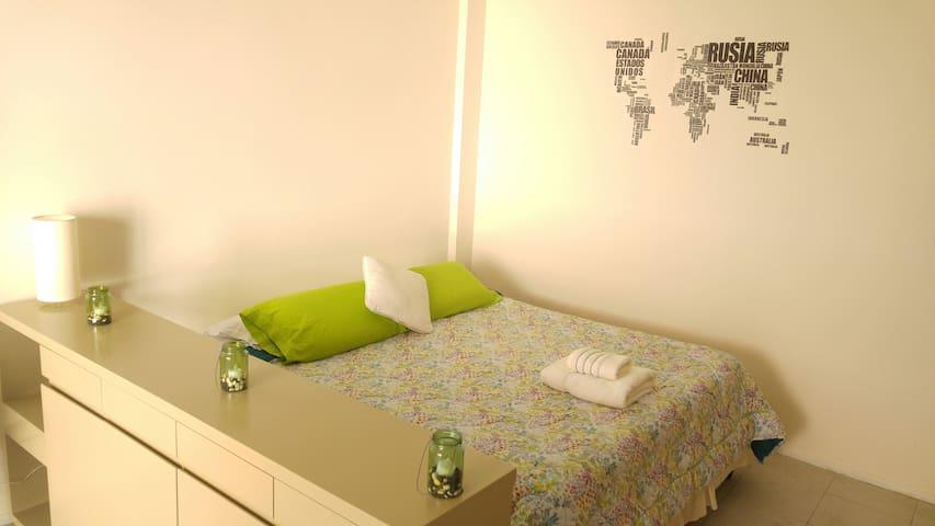 Bright studio apartment in Palermo Queens