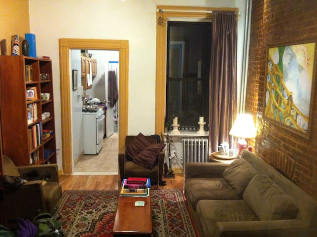 Ground Floor 1BR + Office in Hell's Kitchen