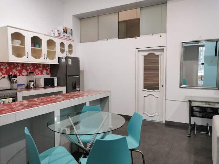Apartments 'Casa Blanca' 201, (Iquitos Center)