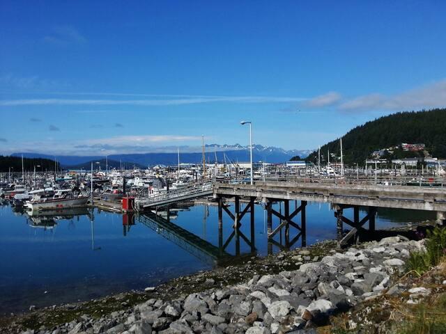 Cordova's Harbor from the Breakwater 2 BR.