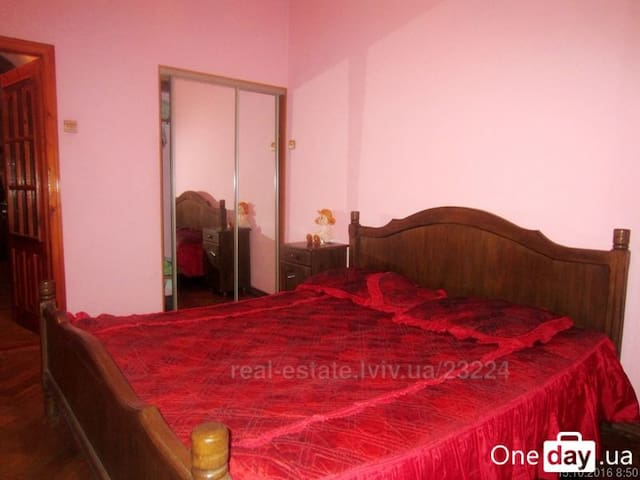 Apartment for four persons (two bedrooms) - Lviv - Servicelägenhet