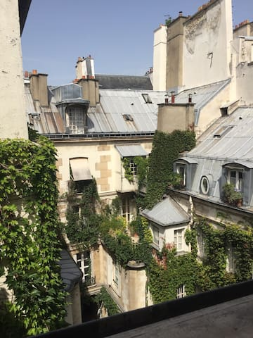 Room in lovely flat in the center of Paris