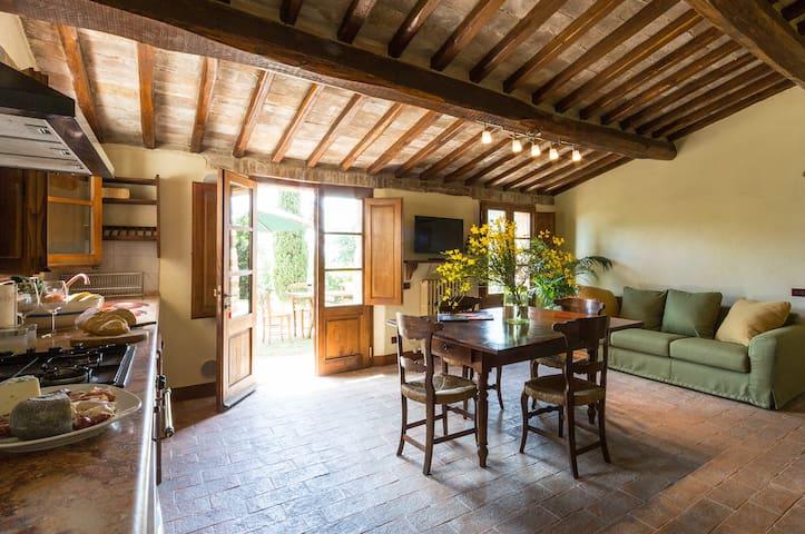 Pozzo apartment in Montecaprili - Provincia di Siena - Apartmen