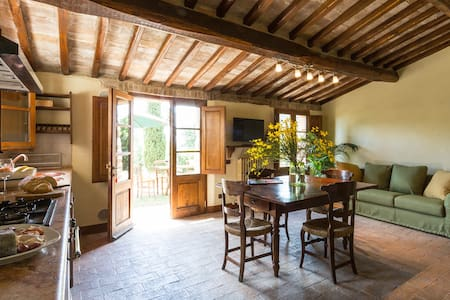 Pozzo apartment in Montecaprili - Provincia di Siena - 公寓