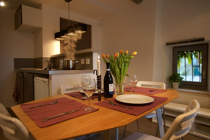 Dining area, Talloires centre