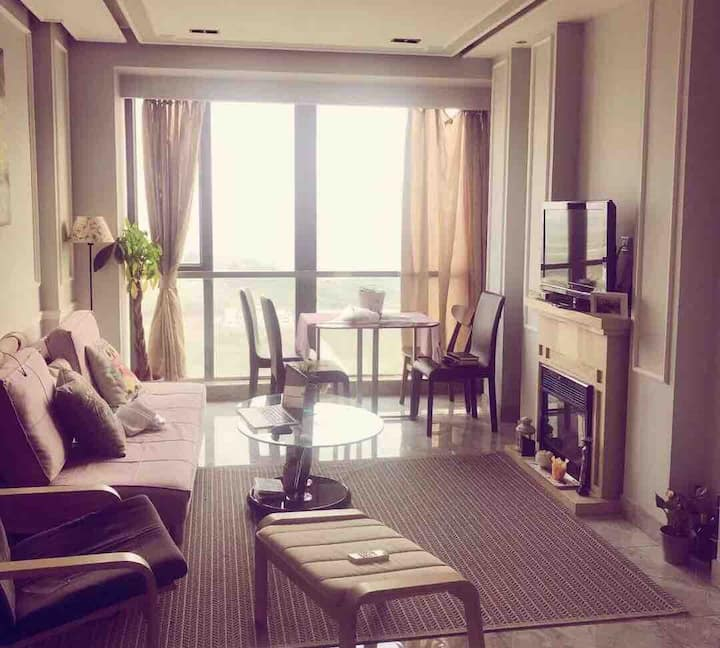 位于广州芳村旁的佛山桂城千灯湖金融高新区的保利花园loft公寓(near FangCun, GZ)