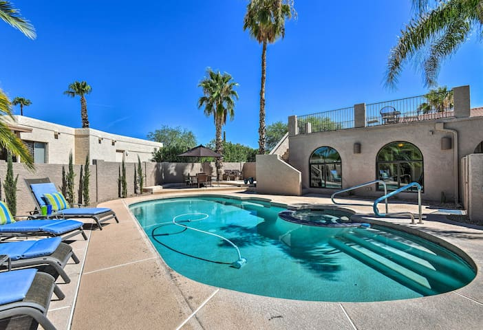 Phoenix Home w/Private Pool&Spa+Resort Amenities