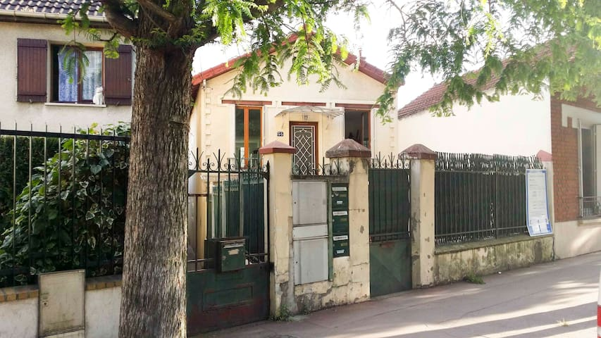 Maison aux portes de Paris, Métro ligne 7