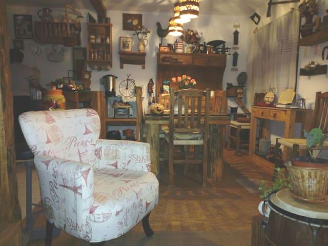 Renta casa tipo cabaña