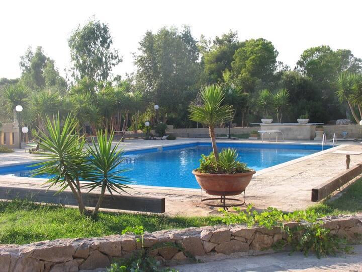 La Chianca del Lupo - Tenuta con piscina - unitá 2