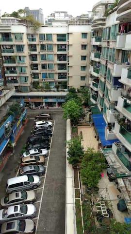 温馨二室,小区管理,家电齐全,拎包入住,可望白云山! - Guangzhou - Hus