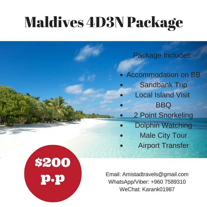 Best 3N Maldives Package!