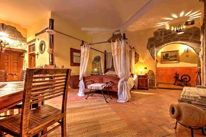 Monolocale caratteristico centro medioevale - Viterbo - Apartment