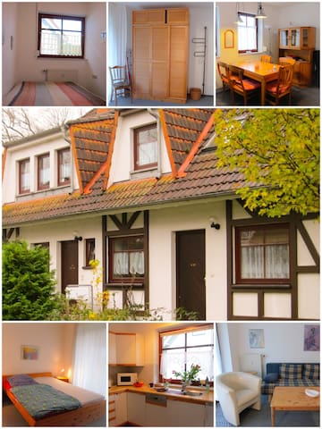 Gemütliche Ferienwohnung auf Rügen in Gustow - Gustow - Apartment