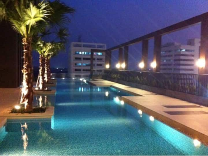 Modern 1BR apartment with resort style facilities.