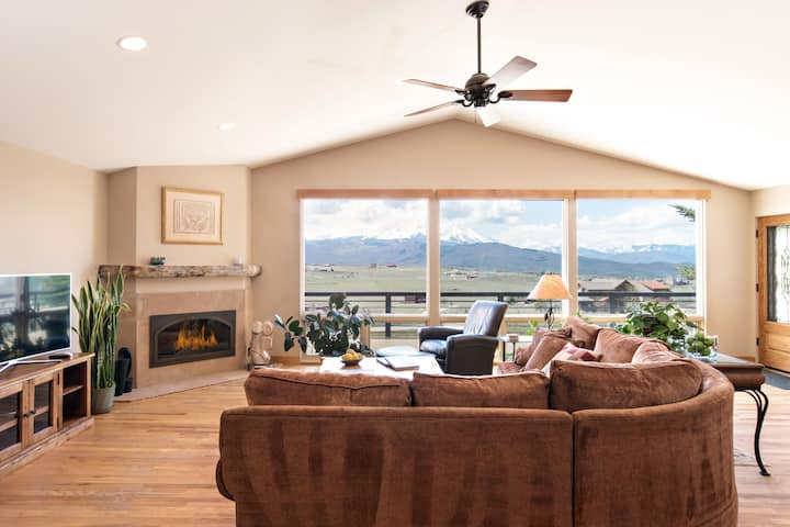 Luxury MTN Home, Incredible Views! 24 Mi. to Aspen