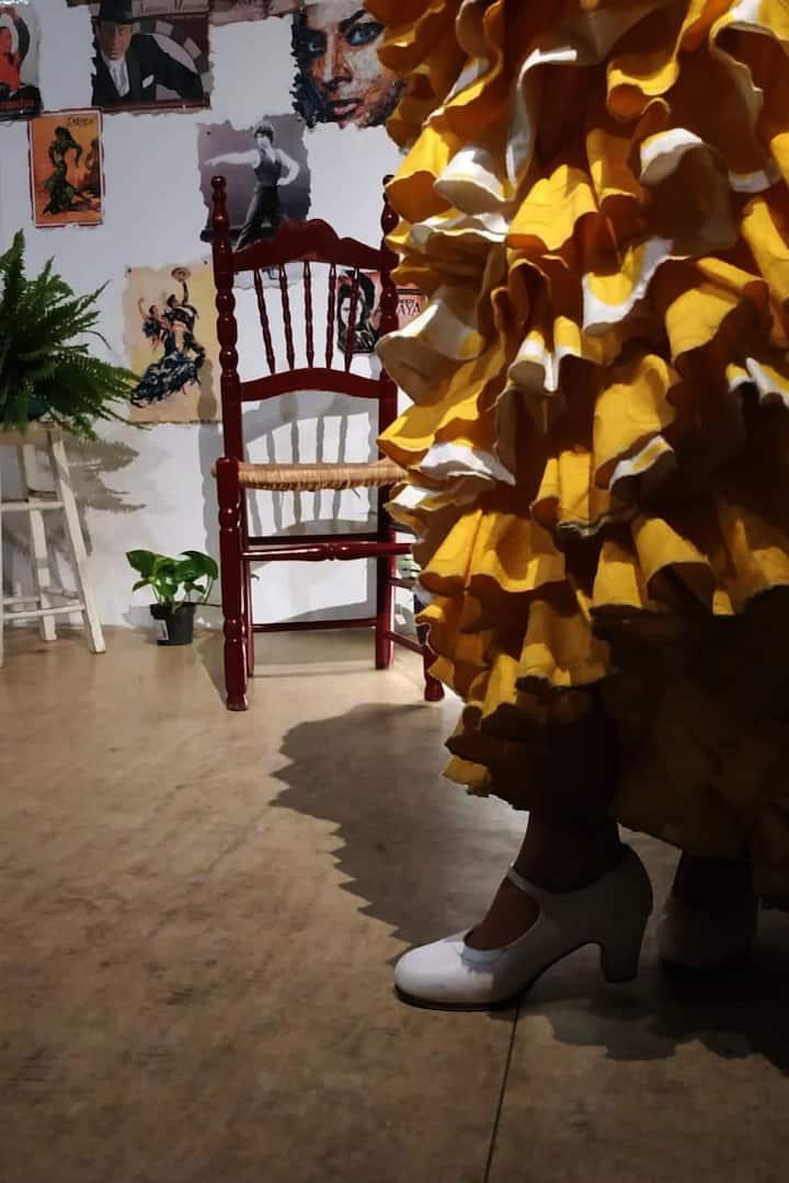 Beautifull traditional Flamenco Costums