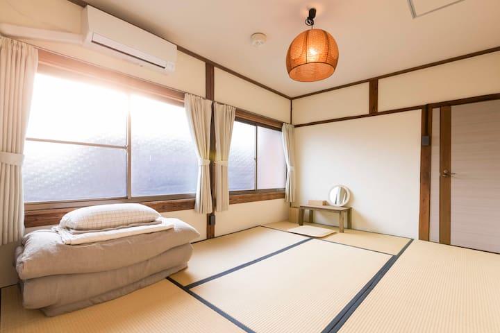 6畳2名部屋 Tatami room  2-person room