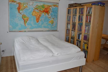 Stort lyst værelse med eget bad/indgang i Sydbyen - Silkeborg - Таунхаус