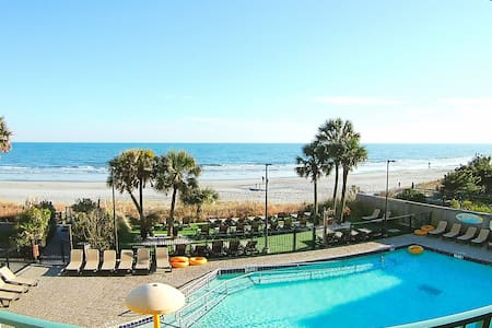 Lovely Views Oceanfront Resort Condo  Myrtle Beach