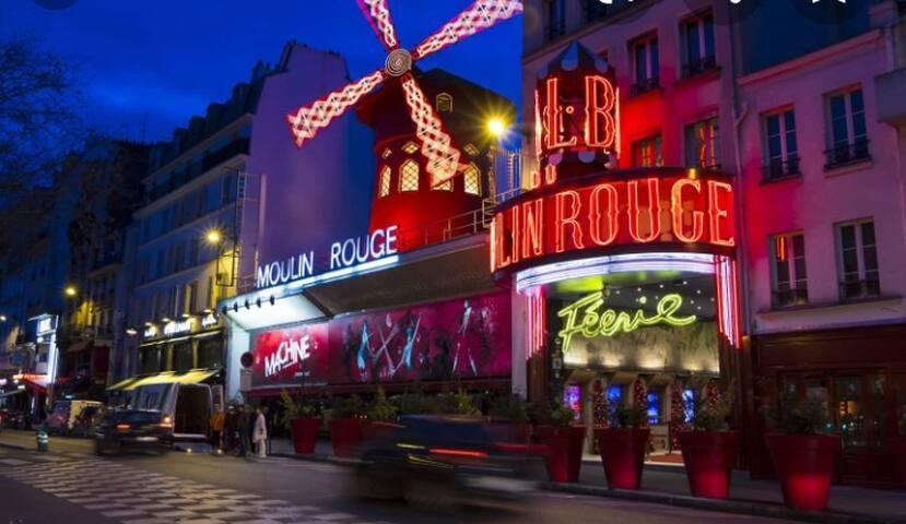 Charmant studio a Paris 18 ème