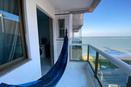 Relax em frente mar na Praia da Costa
