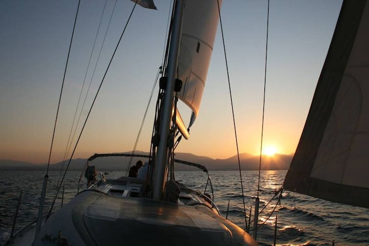 Sailing holidays, Greek islands on owners' Yacht