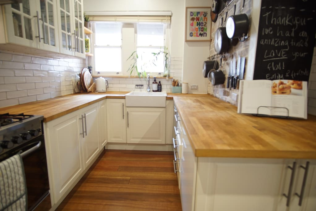 Gorgeous renovated kitchen with everything you need to whip up a gourmet meal