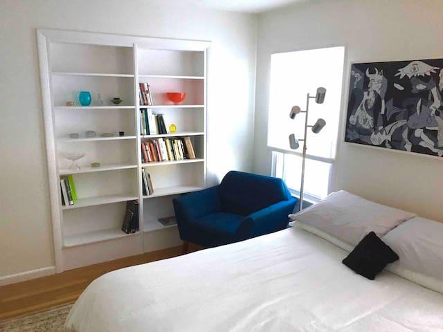 Bedroom, left