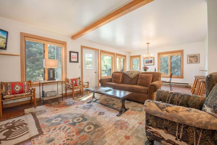 Living Room w/ Deck
