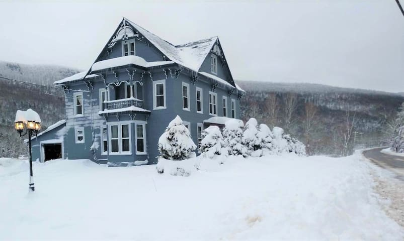 Snow Storm Special! Large Historic Victorian House