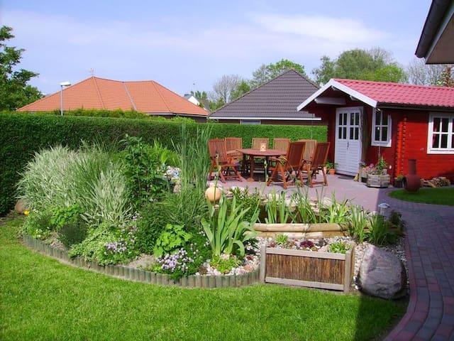 Ferienwohnug,Sauna,Kamin,W-Lan,Nordsee bis 5 Pers. - Wesselburen - Casa de férias