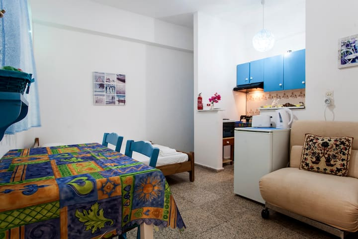 economic studio near to the beach with wifi - Αγία Πελαγία - Apartment
