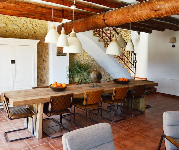 Rustic house 8 pers. inland Valencia with pool - Benali - House
