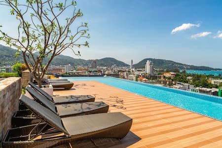 Marvellous Garden View Studio @Patong - 500m
