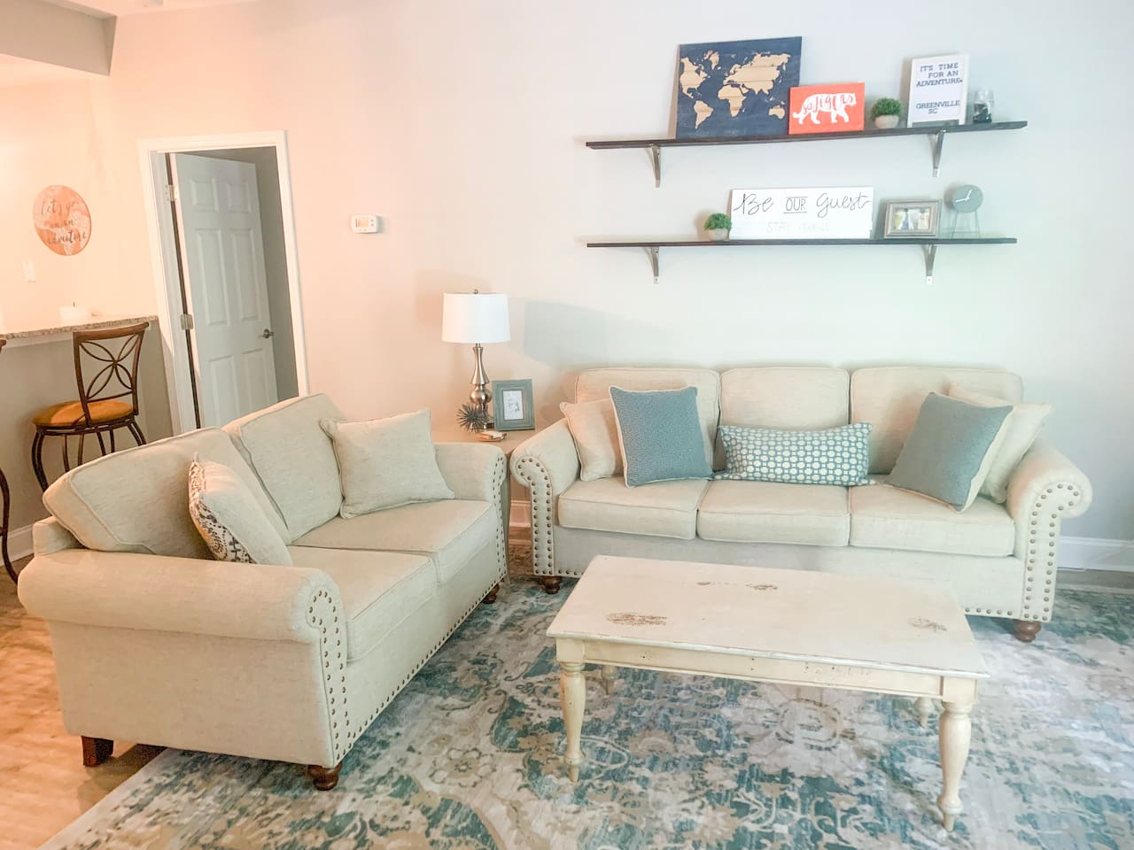 Come relax and enjoy your family and friends in our open, inviting space!
