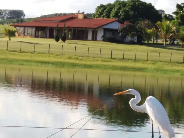 Rancho Recanto das Garças (em frente à represa)