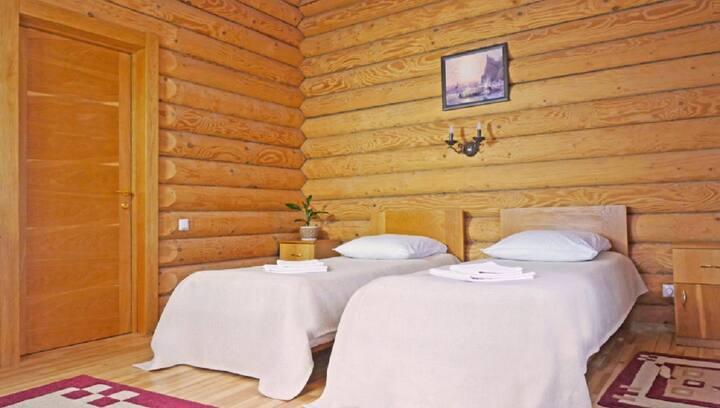Уютный номер с 2-мя кроватями. г. Ижевск.