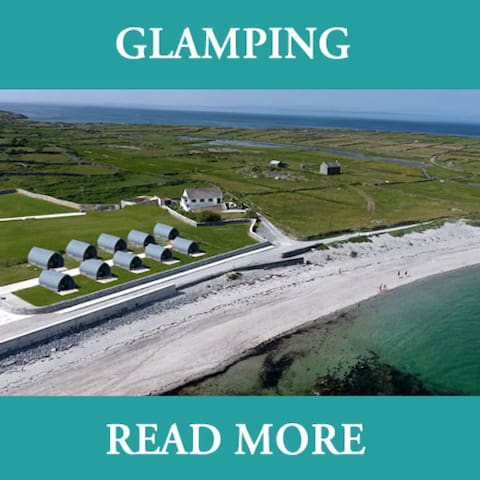 Aran Camping Glamping - 1 Self Catering Glamping Unit (up to 4 people) - Aran Islands
